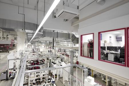 The Friedhelm Loh Group practices what it preaches: Digitally integrated manufacturing at Rittal's Haiger plant produces up to 18 terabytes of new data every day. ONCITE is already being used here / Photo: Friedhelm Loh Group