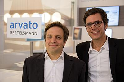 Stefan Eckardt (arvato Systems) and Andreas Jacobi (make.tv) Offer MAM-users Cloud & Power