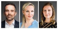 Karsten Krämer, Sonja Görlich und Christine Pollithy sind die treibenden Kräfte hinter CYAN © Fotos: Georg Roske/C3