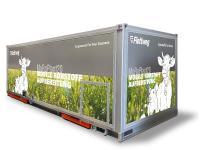 Die Kompaktanlage MoRoPlant20 der AQUA VIVENDI (ein Kooperationspartner der Firma Flottweg SE) trennt Gülle schon vor der Lagerung energieschonend in Feststoff und Prozesswasser.