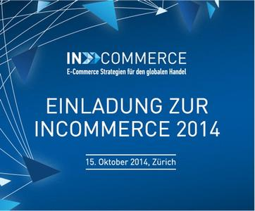 inCOMMERCE Switzerland. 15.10.2014