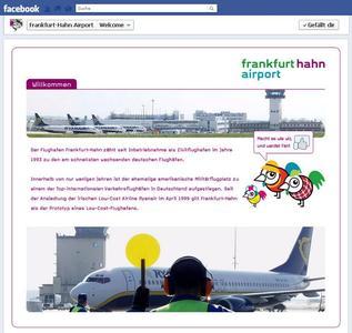 """Hahn-Airport heißt seine Besucher """"Willkommen"""""""