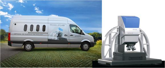 Mit dem MobileLab bringt Alicona neueste optische 3D Oberflächenmesstechnik direkt ins Haus