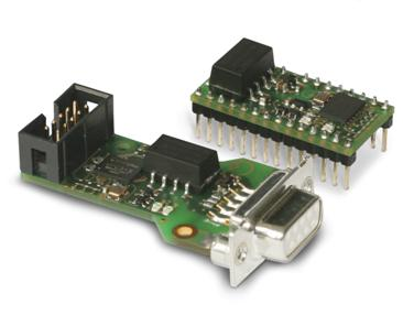 Both proficonn modules proficonn-DIP28 (above) and proficonn-DSUB (below)