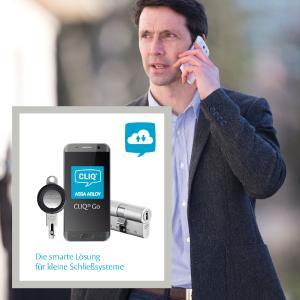 Mit Cliq® Go lässt sich die Schließanlage über die Cloud verwalten /  Foto: ASSA ABLOY Sicherheitstechnik GmbH