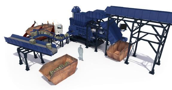 Recycling System - Baling