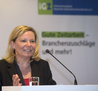 iGZ-Bundesvorsitzende Ariane Durian