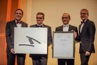 ISRA VISION takes the lead at innovation competition: First place at German Industry's Innovation Award 2015