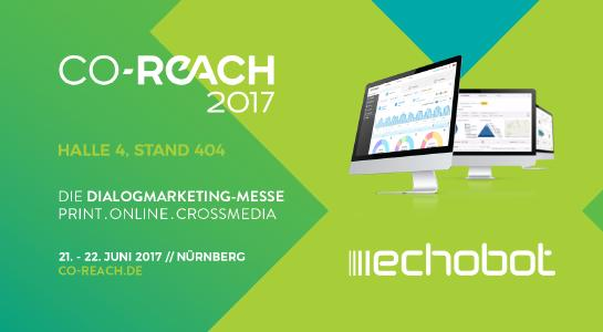 Echobot auf der CO-REACH 2017