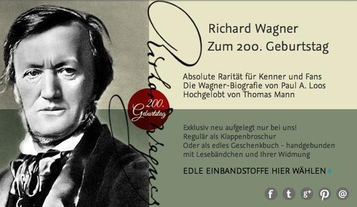 Richard Wagnerzum 200. Geburtstag