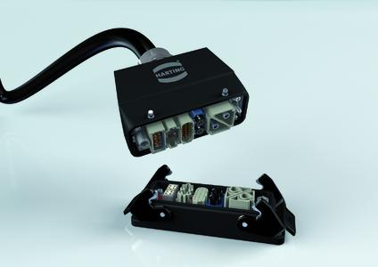 The Han® M Plus offers robust housing for extreme requirements