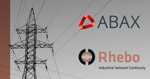 Rhebo und ABAX Partnerschaft