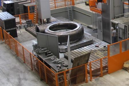 Die belgische Stahlgießerei Allard-Europe ist spezialisiert auf die Herstellung verschleißfester Werkstoffe für die Offshore-, Meerestiefbau- sowie Schiffbauindustrie und Komponenten für die Energieumwandlung (Foto: DIHAG)