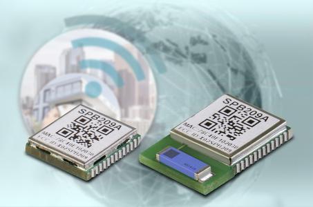 SPB209 accelerate™ Wi-Fi/Bluetooth Kombimodul - ideal für Anwendungen in der Industrieautomation, für Smart Home Lösungen und in der Medizintechnik