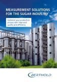 Messlösungen für die Zuckerindustrie