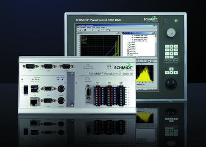 Modulare ServoPress-Steuerung SCHMIDT® PressControl 5000
