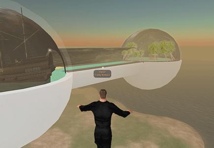 Westaflex Online-Welt in Second Life