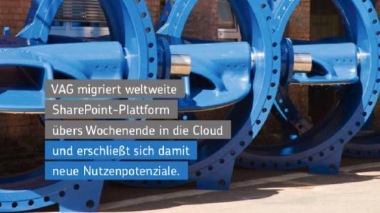 VAG Armaturen nutzt agilen Ansatz von Net at Work zur Migration von SharePoint 2013 in die Cloud
