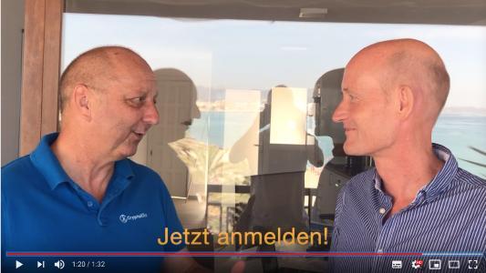 Günther Illert, Gründer der Healthcare Shapers, im Gespräch mit Reinhold Lang, De:central Days