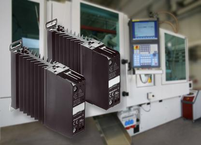 Power Solid-State Relays from Weidmüller: Single-phase Power Solid-State Relays are used to pulse cartridge heaters in injection molding machines