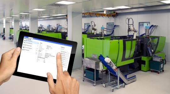 Die mobile Datenerfassung mit den neuen, ergonomischen Apps erleicht den Fertigungsalltag erheblich