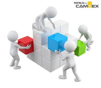 ASFALIS funktioniert nach dem Baukastenprinzip. Die Module können individuell zusammengestellt werden.