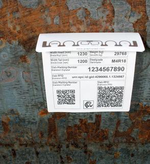Kennzeichnung mit RFID / Bildquelle: S+P Samson