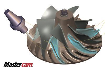 Mastercam Blade Expert: Das Modul für die Impeller-Bearbeitung