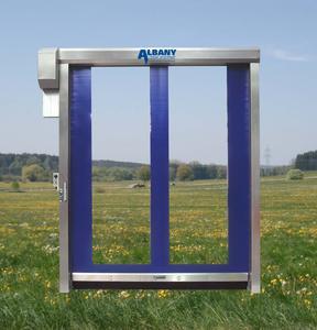 Umweltschutz durch schnelllaufende Albany Doors