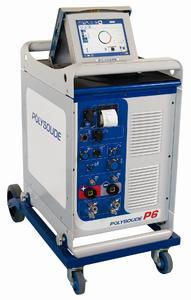 P6 – 6-Achsen-WIG-Stromquelle mit integrierter CNC-Prozesssteuerung zum automatisierten Orbitalschweißen und mechanisierten Fügen Foto: Polysoude