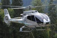 Eurocopter showcases the newly upgraded EC130 T2's with special emphasis on its capacity for aerial work in a two week European demo-tour