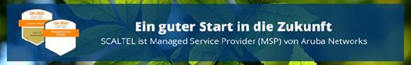Die SCALTEL AG ist neuer Managed Service Provider (MSP) von Aruba Networks