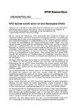 [PDF] RFID Sprinter schafft schon mit dem Starterpaket Effekte