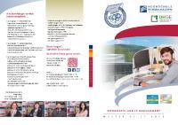 [PDF] Die Studienbroschüre «Informatik und IT-Management» als PDF zum Download