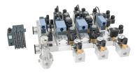 Bild 2: Plug-and-play-fähige Komplettlösungen lassen sich für eine exakte Dosierung und Protokollierung der Gasmengen einfach an die übergeordnete Steuerung anbinden (Quelle: Bürkert Fluid Control Systems)