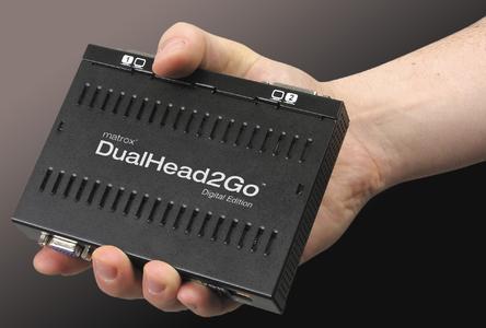 Matrox DualHead2Go Digital Edition - hand black