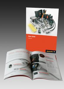 """Weidmüller """"News 2010""""  – A comprehensive and informative catalogue about new products"""