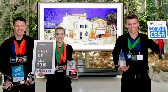 Best of CES 2018 Award / Bild LG