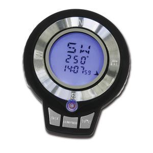 BRESSERjujior Digitalkompass mit Uhrzeit- sowie Temperaturanzeige und integrierter Wasserwaage