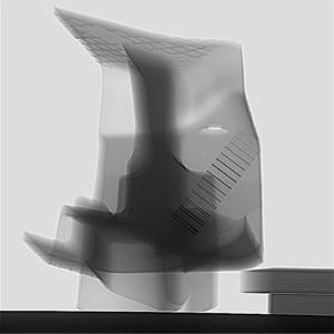HDR image of a cast part