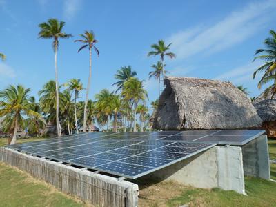 Off-Grid Solar System of Phaesun in Panama