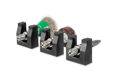 BIAX Schnellwechselstationen für automatisierten Werkzeugwechsel bei Roboteranwendungen.