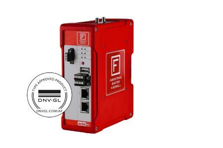 Firewall und Router mit DNV GL Zertifizierung