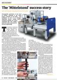 """""""The Mittelstand Success Story"""" Guest Commentary in Fastener+Fixing Magazine"""