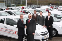 DRK least 30 Opel Corsa bei der ALD Automotive