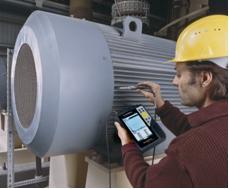 """""""SmartBalancer"""" – portables Messgerät zum Betriebsauswuchten, © Schenck RoTec"""