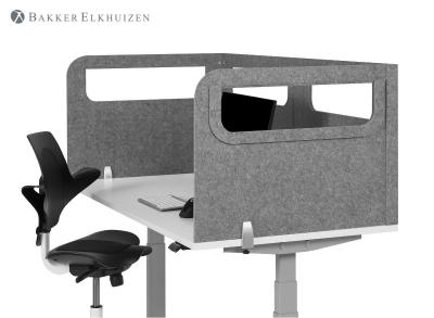 BakkerElkhuizen Safety Screen Tischtrennwand in U-Form