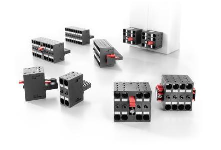 Weidmüller OMNIMATE® Power Steckverbinder BVDF 7.62 HP: Sicherer und effizienter Geräteanschluss für die Leistungselektronik mit integrierter Querverbindung