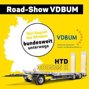 Humbaur HTD 308525 K - jetzt besichtigen auf der VDBUM Road-Show