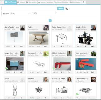 PARTcloud net Screenshot